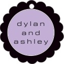 Fifth Avenue Scallop Hang Tag In Lilac | Taylor Street Favors