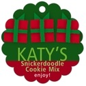 Presents Scallop Hang Tag In Green | Taylor Street Favors