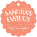 Rustic Retro Scallop Hang Tag In Coral | Taylor Street Favors