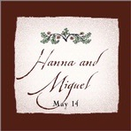 Rustic Floral Custom labels